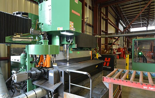 Why buy used steel fabrication machines